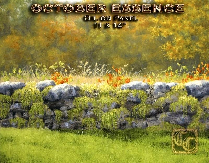 """OCTOBER ESSENCE"" 11 x 14 Oil on panel"