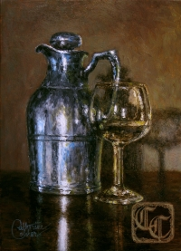 PITCHER AND GLASS
