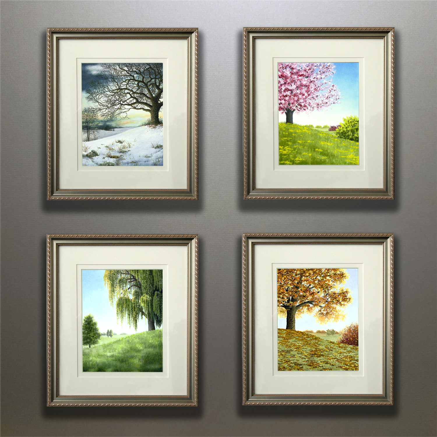 SEASONS SUITE FRAMED GROUPING