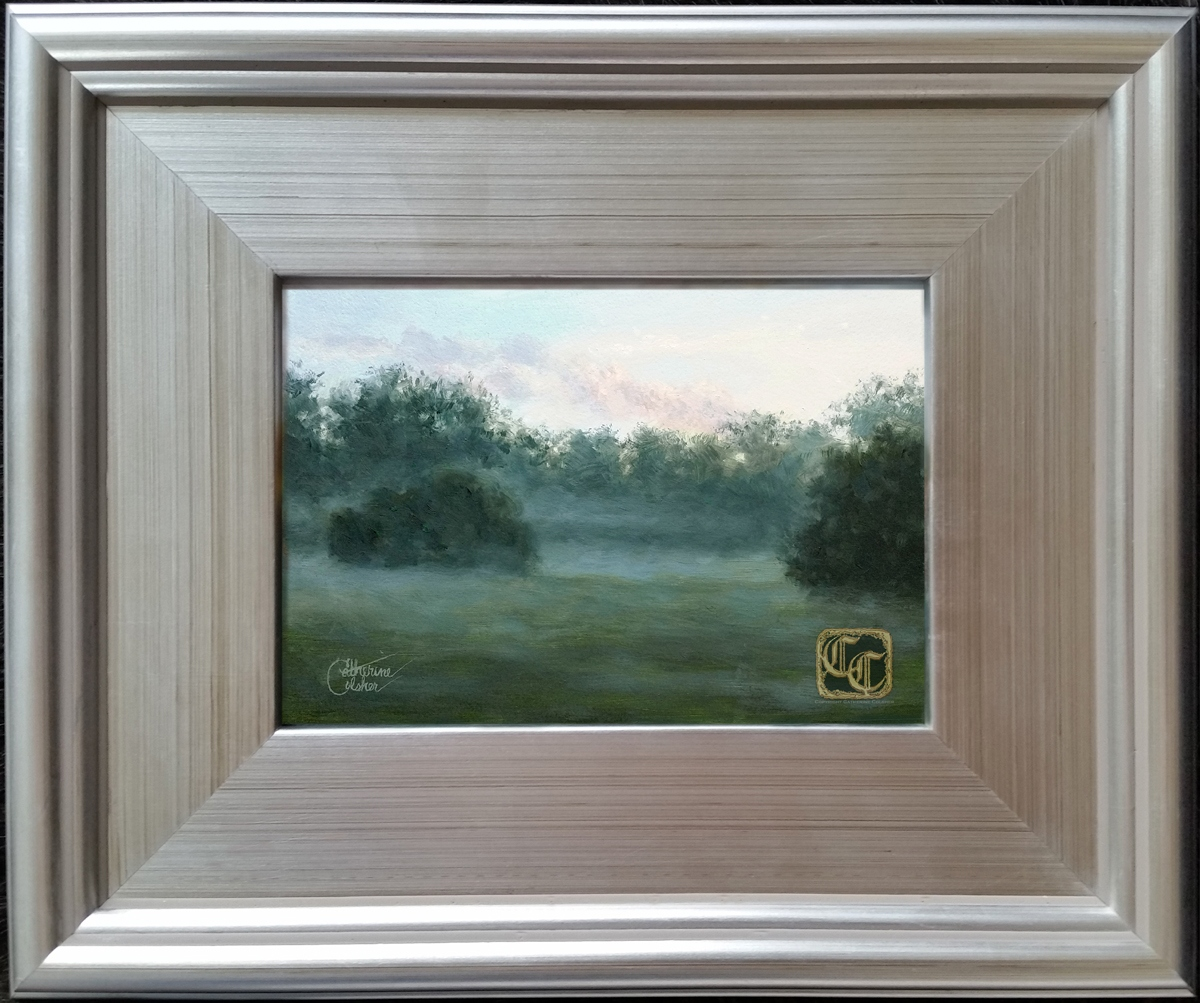 MISTY MEADOW FRAMED