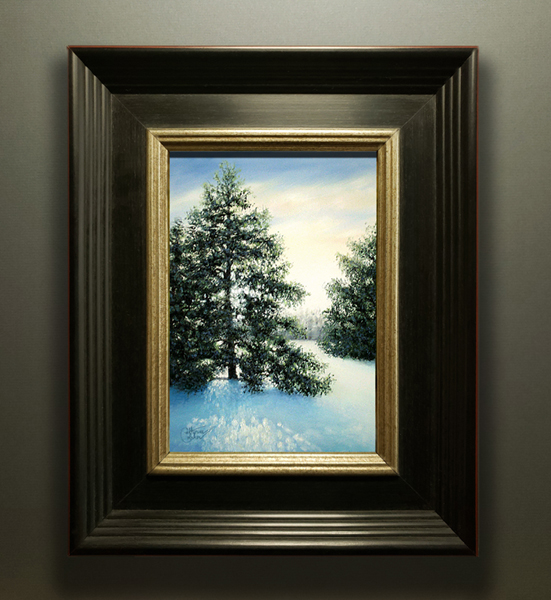 HOLIDAY SPARKLE FRAMED