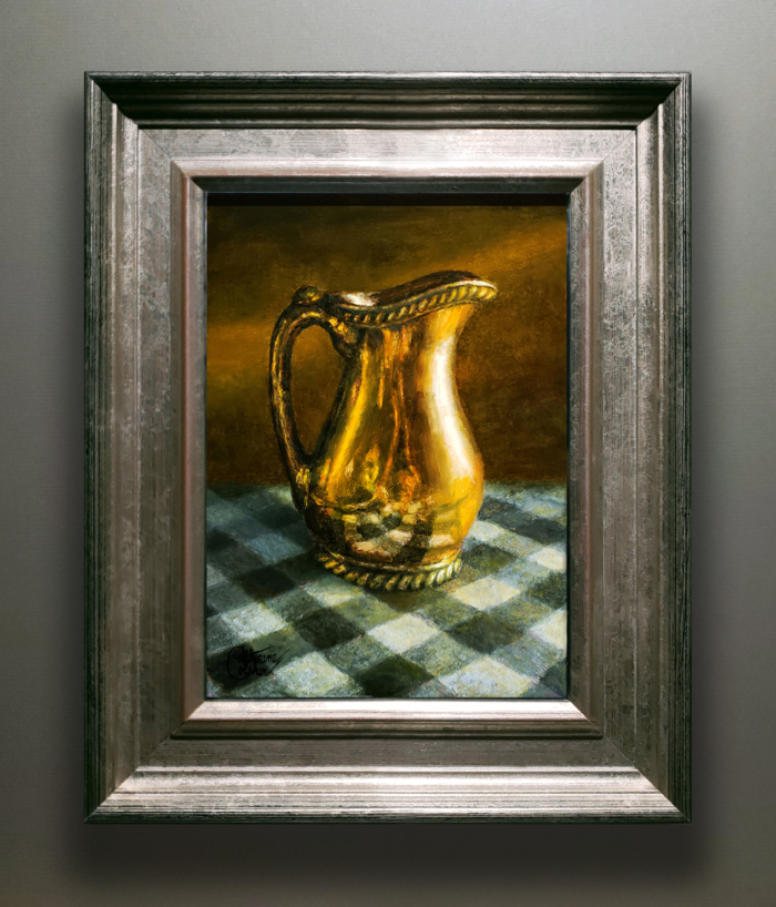 CHECKERED REFLECTIONS FRAMED