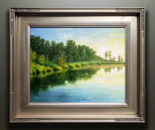 TRANQUIL COVE FRAMED