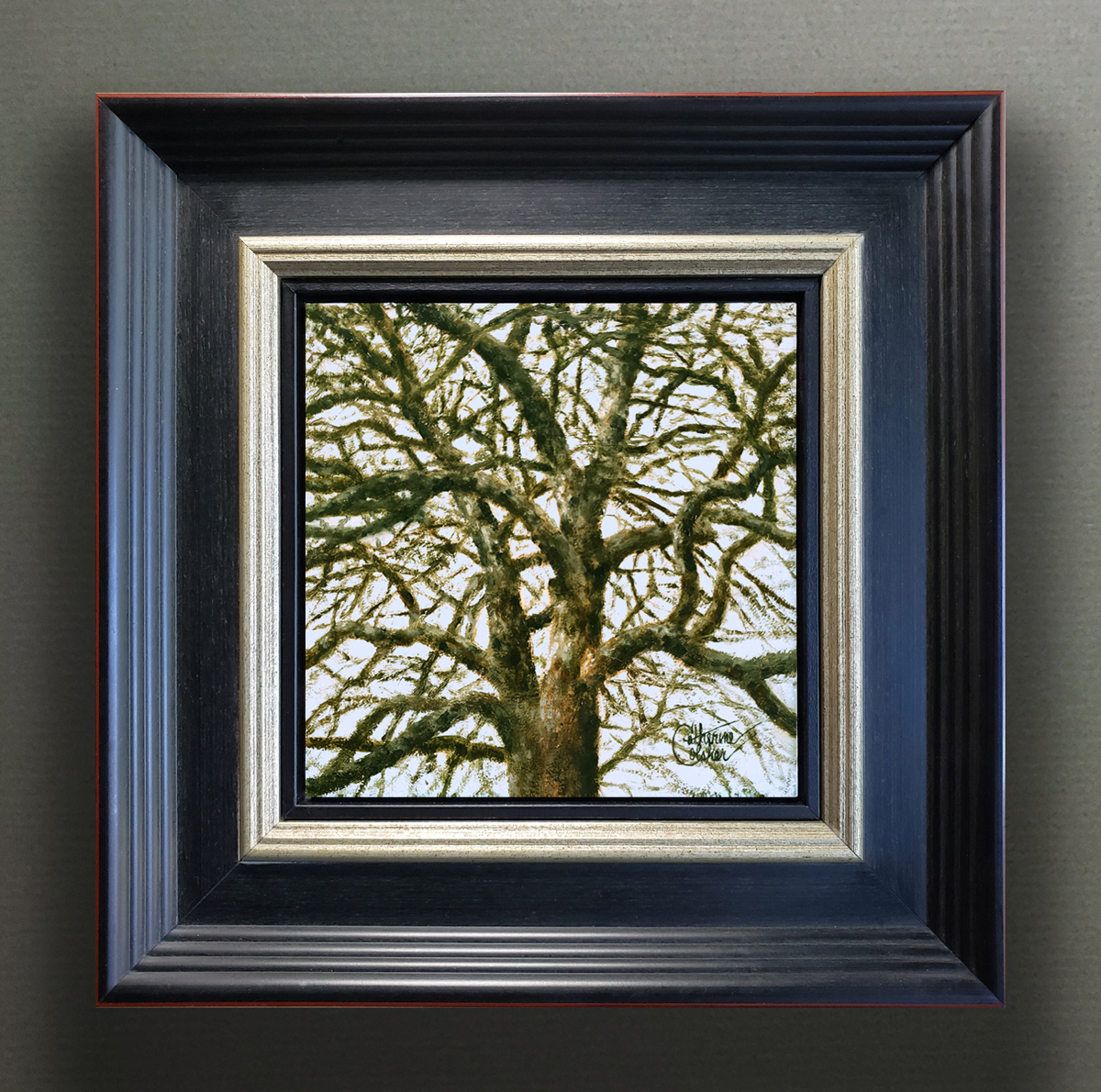 """BRANCHING OUT"" FRAMED"