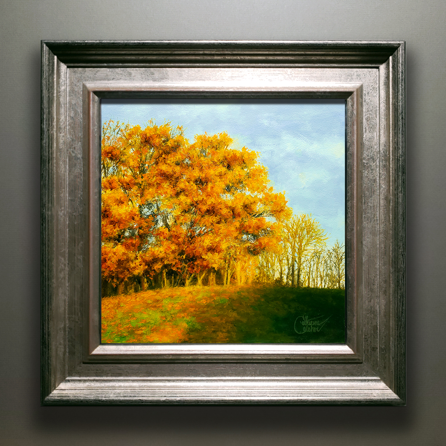 """""""SUNGLOW"""" SILVER/GOLD FRAME"""