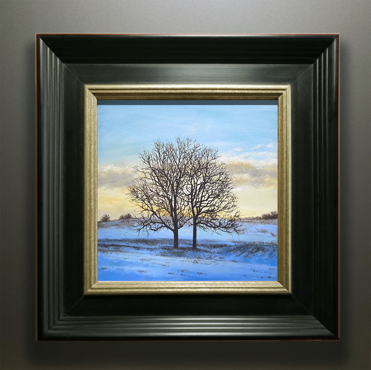 """""""ALL IS CALM, ALL IS BRIGHT"""" FRAMED"""