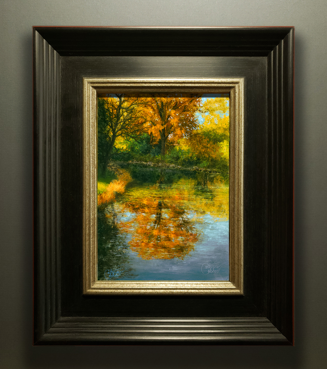 """AUTUMN STUDY"" FRAMED"