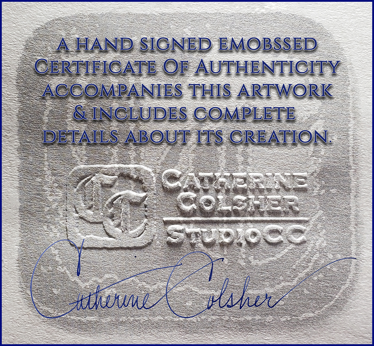 Certificate Of Authenticity Branding