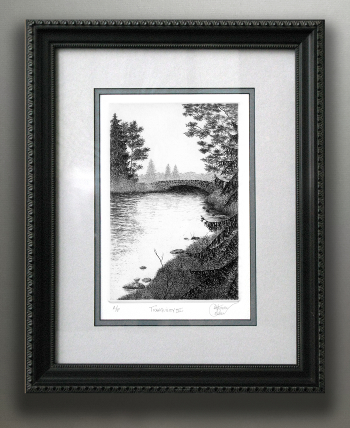 """TRANQUILITY III"" FRAMED"
