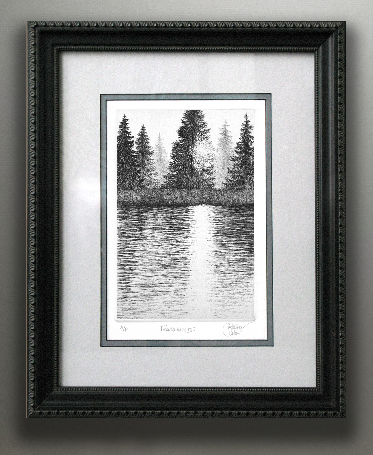 """TRANQUILITY II"" FRAMED"