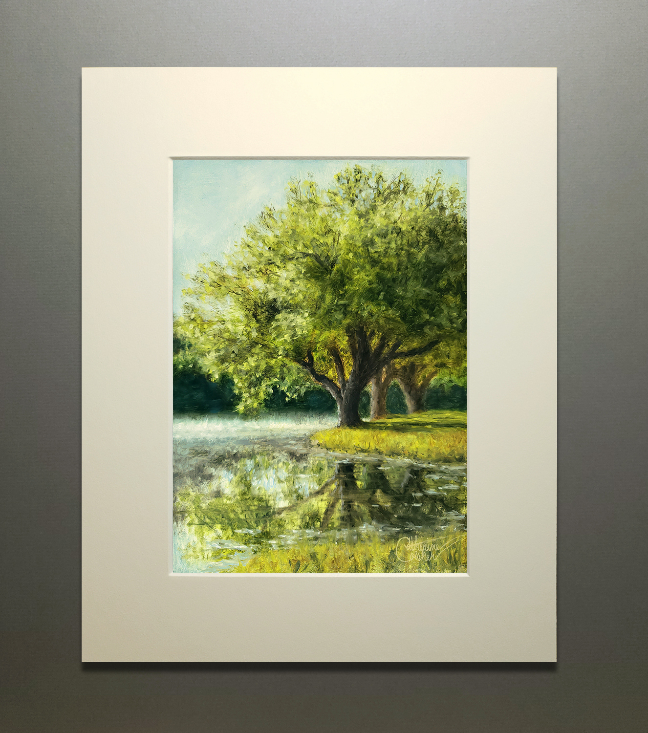 """""""RIVER MIST"""" MATTED"""
