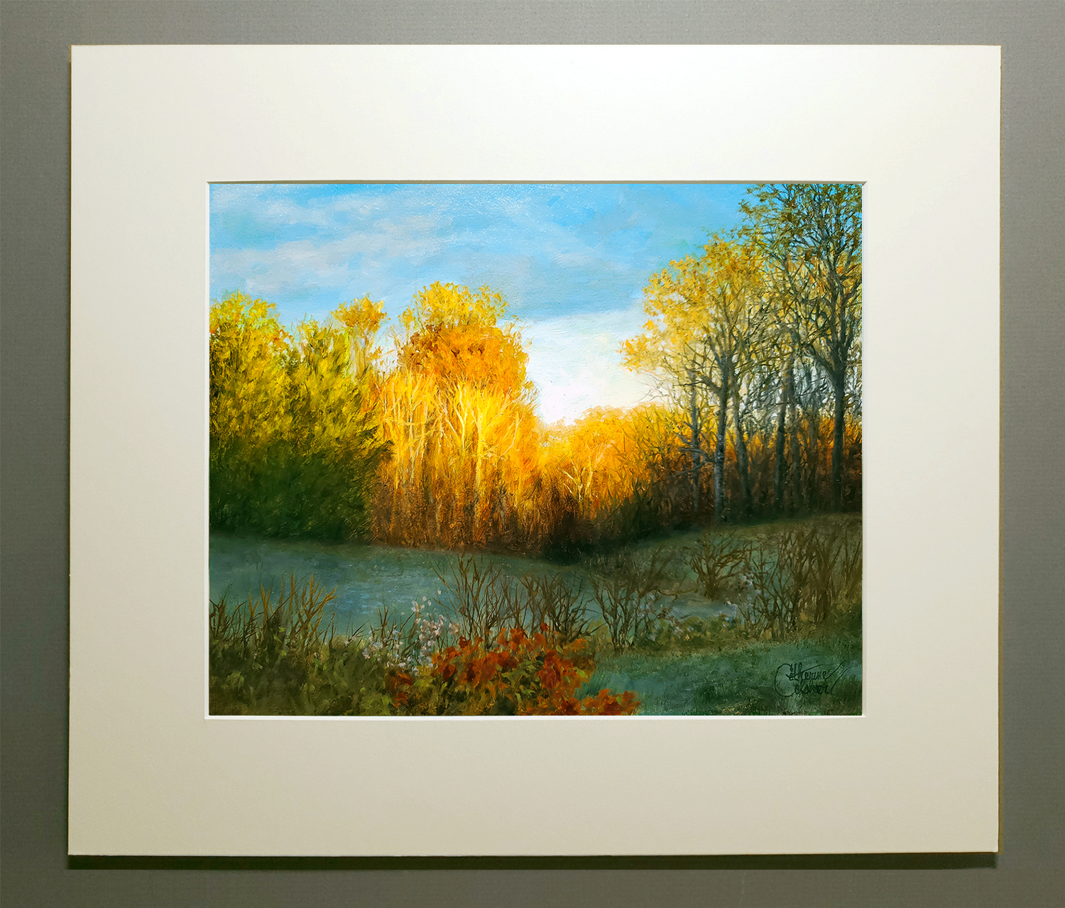 """""""THE GOLDEN HOURS"""" MATTED"""